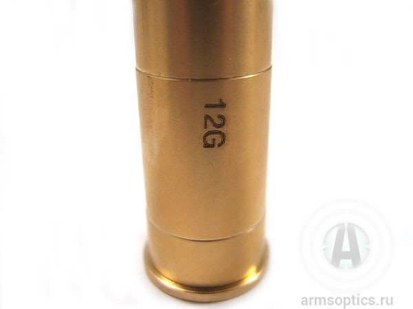 Лазерный патрон для пристрелки (бор-сайтер) под 12-й калибр