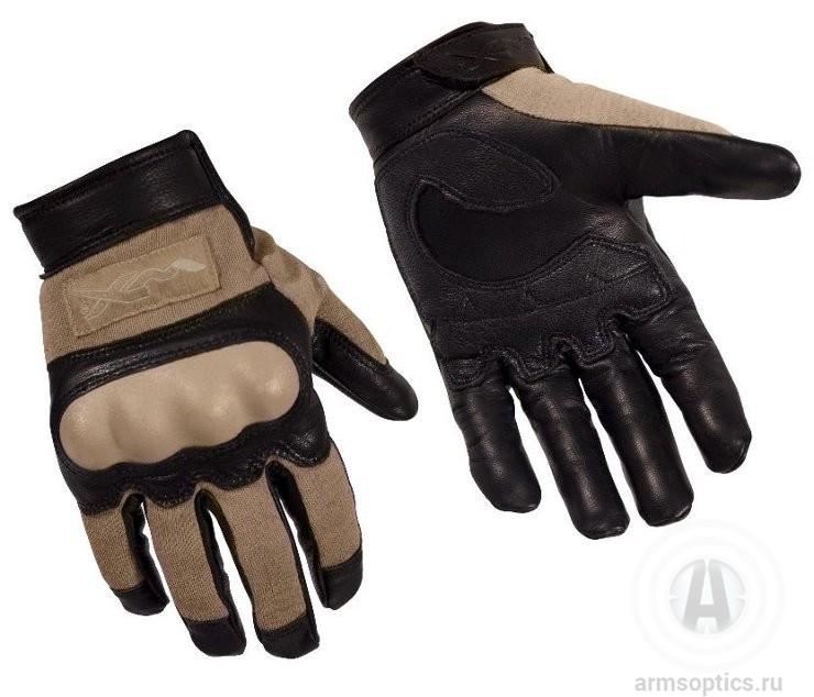 Тактические перчатки Wiley X CAG-1, тановые