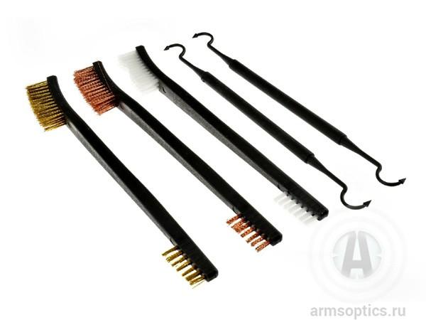 Выколотки Tipton и щетки Hoppe's для чистки оружия