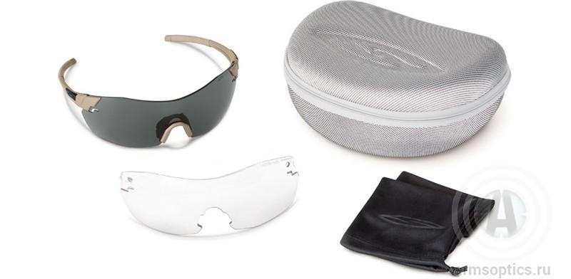 Тактические очки Smith Optics PIVLOCK V2 Tactical MAX  (2 линзы)