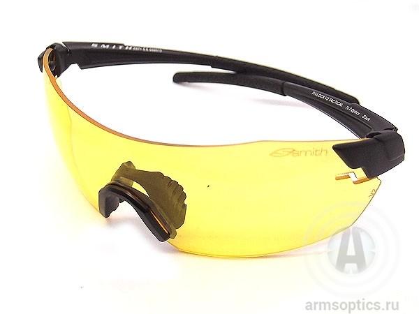 Тактические очки Smith Optics PIVLOCK V2 Tactical Armsoptics, желтые