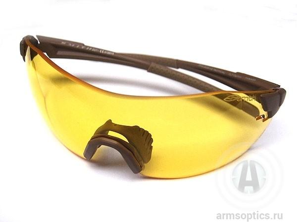Тактические очки Smith Optics PIVLOCK V2 MAX Tactical Armsoptics, желтые