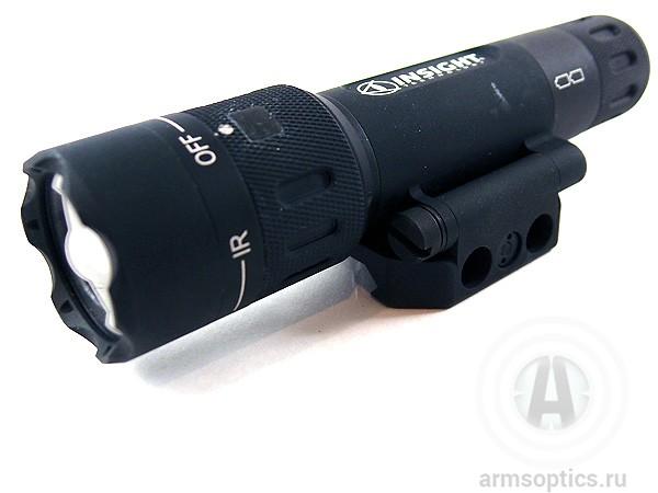 Тактический фонарь Insight WMX200 с вращающейся планкой Rail-Grabber